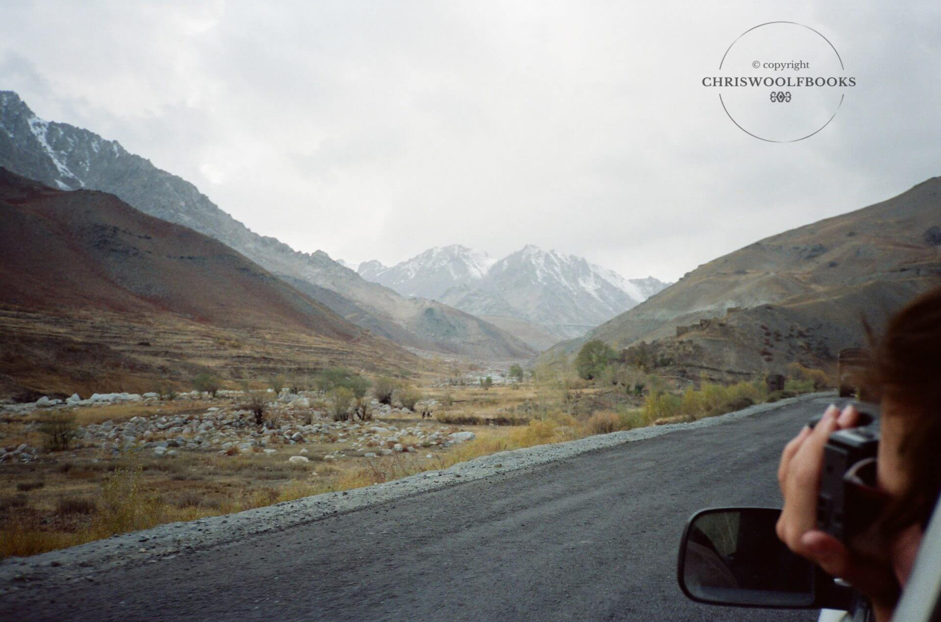 The city of Pul-i-Khumri commands the northern end of the strategically vital Salang Valley, pictured here.